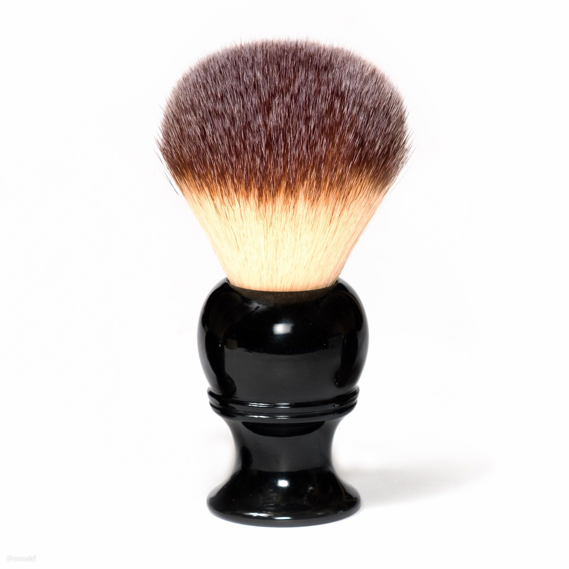 Pędzel do golenia Maggard Razors 24mm Synthetic Shaving Brush, Black Handle