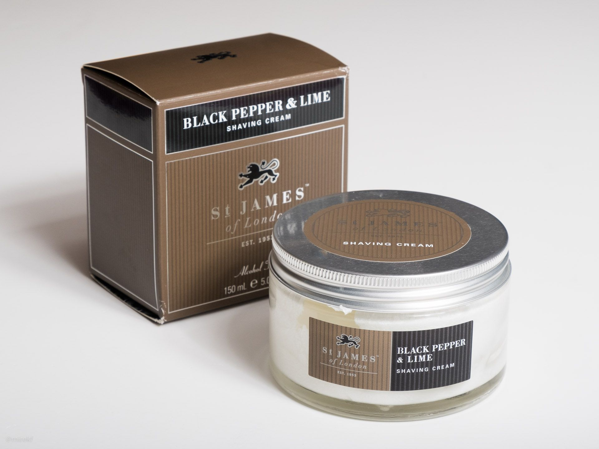 You are currently viewing St. James of London Black Pepper and Lime Shaving Cream – recenzja kremu do golenia