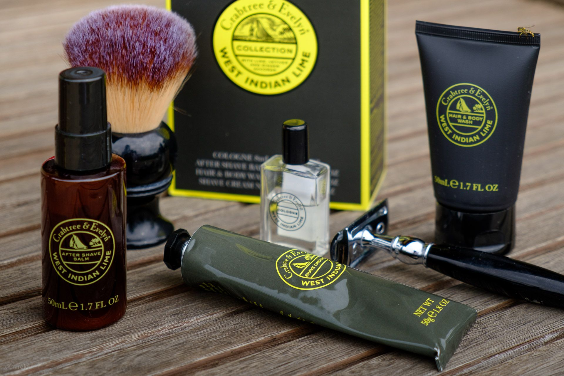 You are currently viewing Crabtree & Evelyn West Indian Lime Shaving Cream – recenzja kremu do golenia