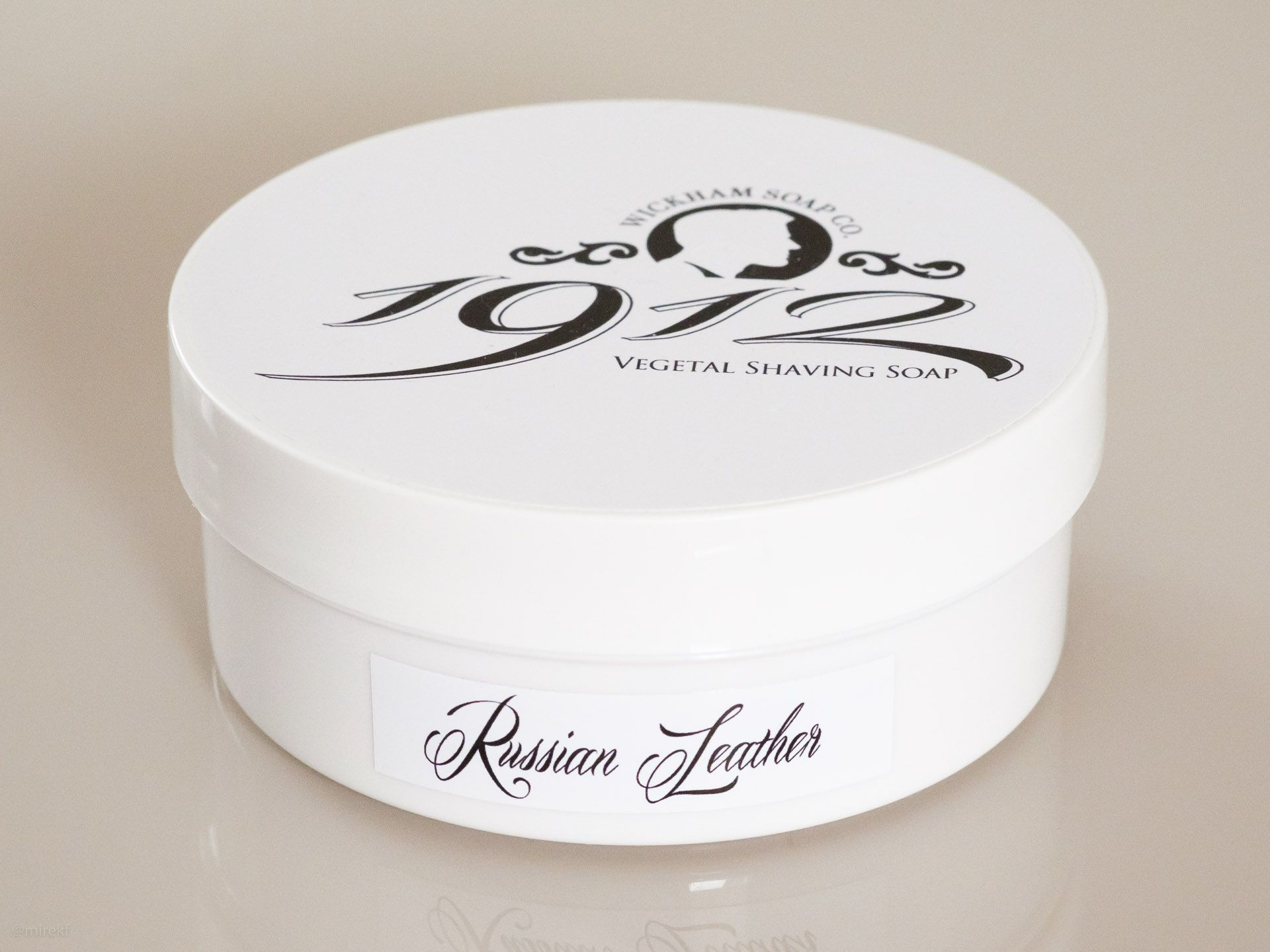 You are currently viewing Wickham 1912 Russian Leather Shaving Soap – recenzja mydła do golenia
