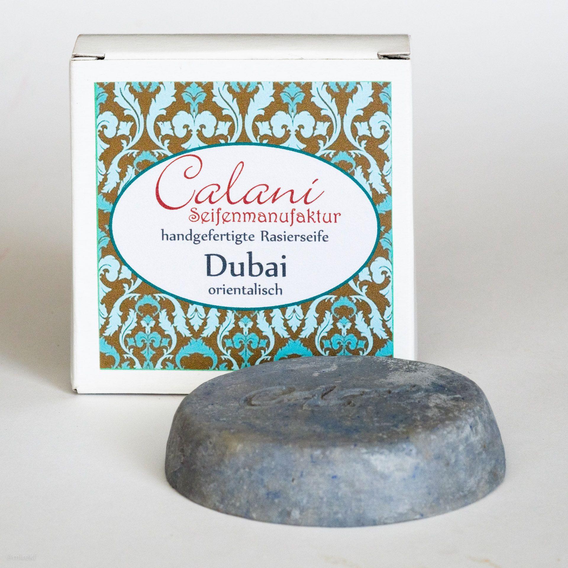 You are currently viewing Calani Dubai, Earl Grey, Bay Rum i Classic Havana Rasierseife (Shaving Soap) – recenzja mydeł do golenia