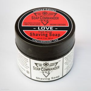 Read more about the article Soap Commander Shaving Soap Love – recenzja mydła do golenia