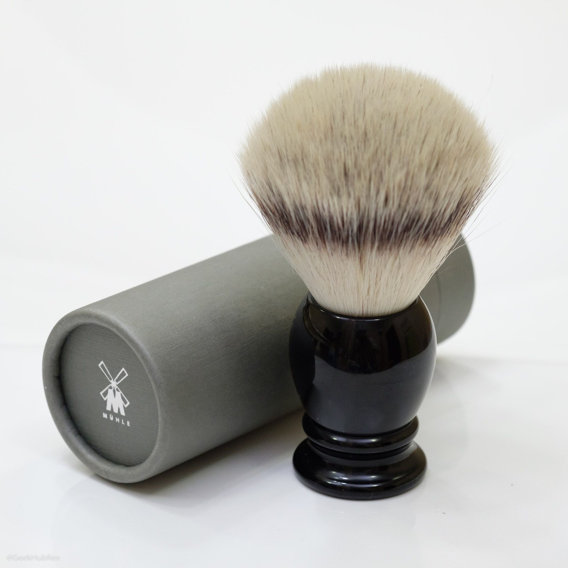 You are currently viewing Mühle 35K256 Sivertip Fibres Synthetic Shaving Brush –recenzja syntetycznego pędzla do golenia
