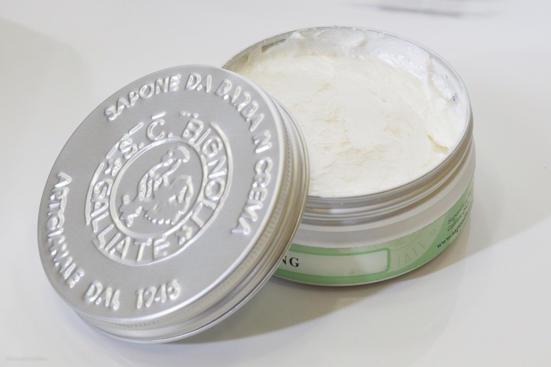 Opakowanie kremu do golenia Saponificio Bignoli Young Sapone da Barba in Crema (Shaving Cream)