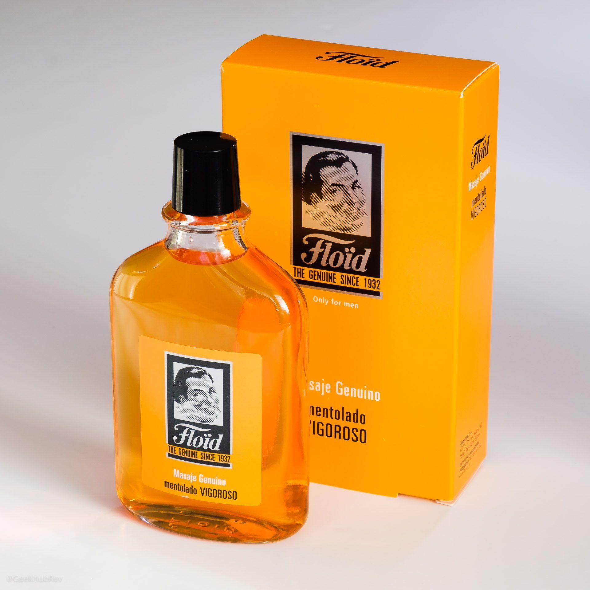 Opakowanie wody po goleniu Floïd Masaje Genuino Mentolado Vigoroso (Aftershave)