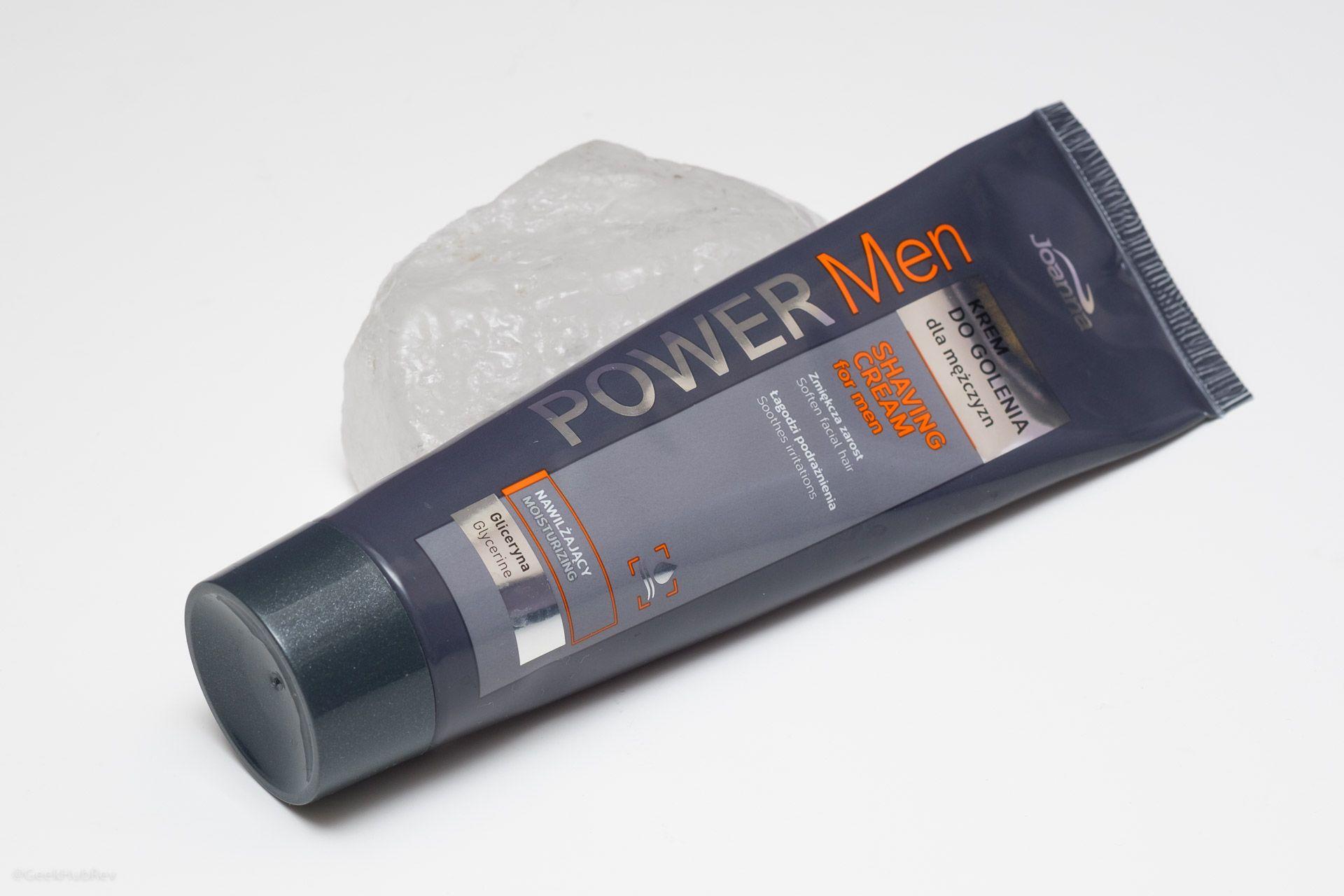 Read more about the article Joanna Power Man Krem do golenia (Shaving Cream) – recenzja kremu do golenia